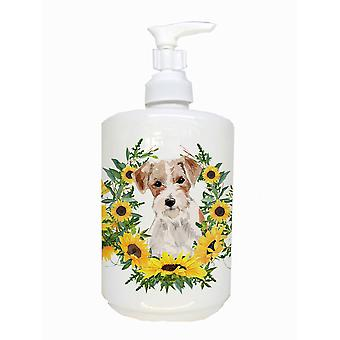 Carolines Treasures  CK2928SOAP Jack Russell Terrier Ceramic Soap Dispenser