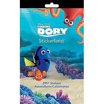 Stickerland Pad - Finding Dory - 4 pages Toys Gifts Stationery New st5269