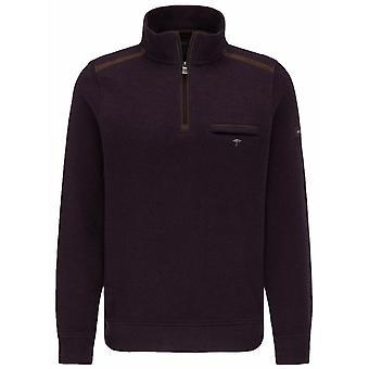 FYNCH HATTON Fynch Hatton Fashion Quarter Zip Sweater