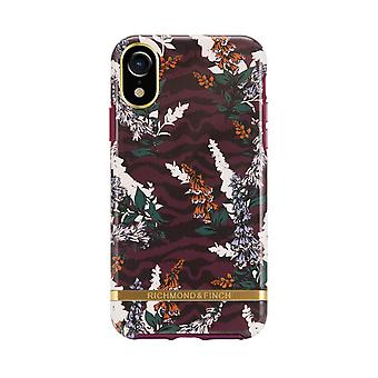 Richmond & Finch shells voor IPhone XR-Floral Zebra