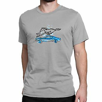 Ford Mustang  T-shirt.OFFICIALLY LICENSED FORD PRODUCT.
