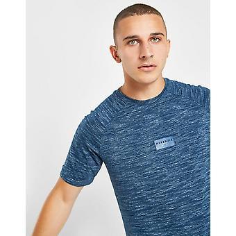 Nieuwe McKenzie mannen ' s Acari korte mouw T-shirt blauw