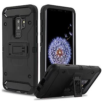 Black/Black Kinetic Hybrid Case for Galaxy S9 Plus