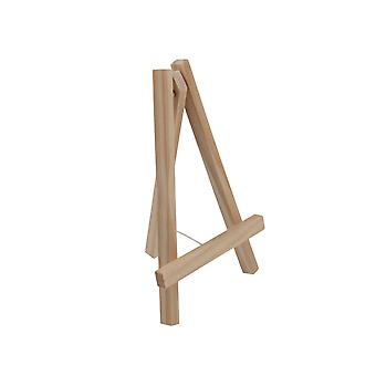 25cm Natural Wood Easel Display Stand for Weddings & Crafts