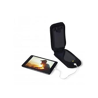 Powertraveller Adventurer Solar Powered Charger with Integrated Battery - Black