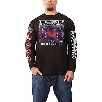 Fear Factory T Shirt Soul Of A New Machine new Official Mens Black Longsleeve