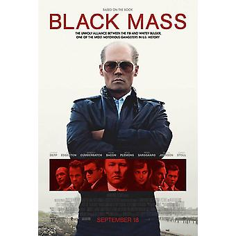 Black Mass Original Movie Poster Double Sided Regular
