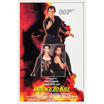 Licence To Kill (Single Sided Regular) Original Cinema Poster