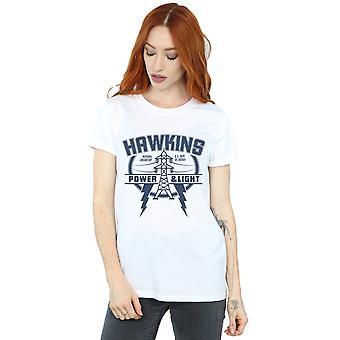 Mindspark Women's Hawkins Power Boyfriend Fit T-Shirt
