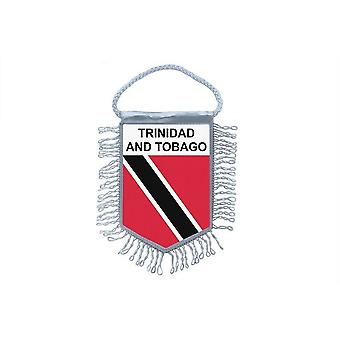 Flag Mini Flag Country Car Decoration Trinidad Tobago