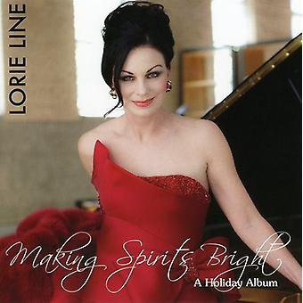 Lorie Line - Making Geister Bright [CD] USA import