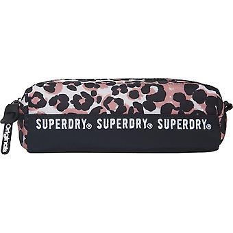 Superdry Repeat Series Pencil Case Brown 13