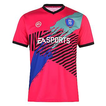 FIFA Mens Gents EA Sports Short Sleeve Jersey Football Shirt Sports Top