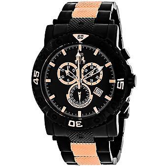 Jivago Men's Titan Black Dial Watch - JV9127XL