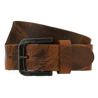 Teal Belt Men's Belt Leather Belt Denim Belt Cognac 8347