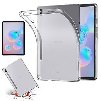 For Samsung Galaxy Tab S6 10.5 T860 T865 Transparent Case Case Case TPU Silicone Thin