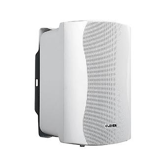 Slimme akoestiek Act35 wit aangedreven luidsprekers (paar)