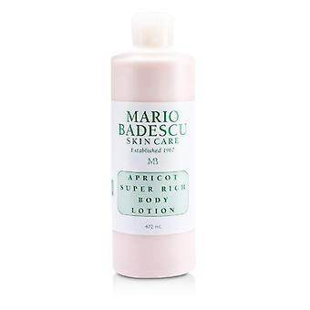 Mario Badescu Apricot Super Rich Body Lotion - For All Skin Types - 472ml/16oz