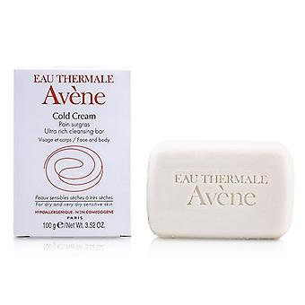 Avene Cold Cream Ultra Rich Cleansing Bar (for Dry & Very Dry Sensitive Skin) - 100g/3.52oz