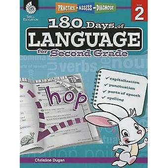 180 Days of Language for Second Grade  Practice Assess Diagnose by Christine Dugan