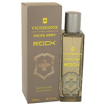 Swiss Army Rock by Swiss Army Eau De Toilette Spray 3.4 oz / 100 ml (Men)
