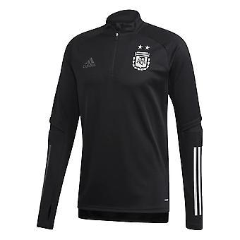 2020-2021 Argentina Adidas träningstopp (svart)