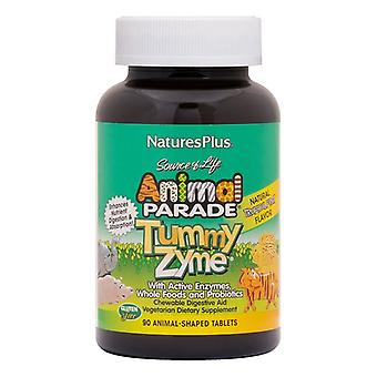 Naturens pluss Animal parade mage Zyme tygge 90 (29947)