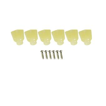 Kluson Revolution Button Keystone Pearloid (plastic) Set Of 6