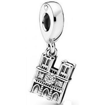 Charm Pandora 798257CZ -  Pendant Notre-Dame de Paris Argent