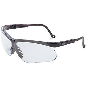 Óculos de segurança Uvex Genesis, Preto, Lente Clara, Anti-Nevoeiro, Adv. TPE #S3200X-ADV