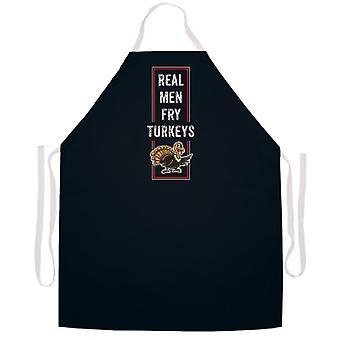 Real Men Fry Turkeys tablier