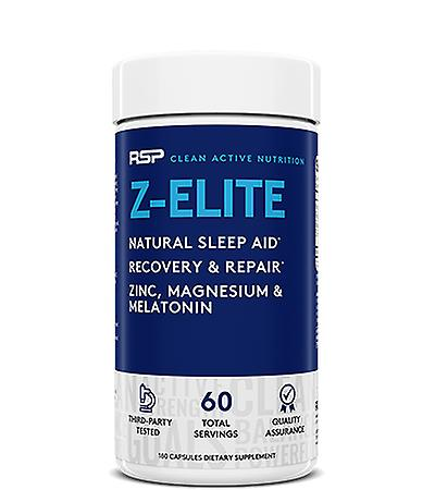 Rsp z-elite, sleep support supplement, muscle recovery & repair, zinc, melatonin (180 capsules)