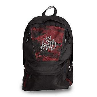 Kings Will Dream | Kwd Apsley Tech 545 Keyline Reflective Backpack - Black/red Camo