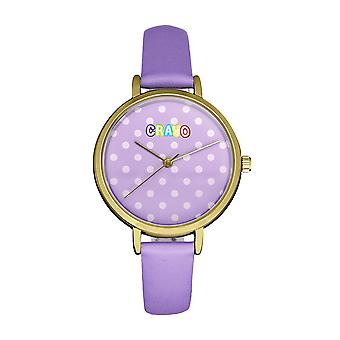 Crayo dot hihna Watch-violetti