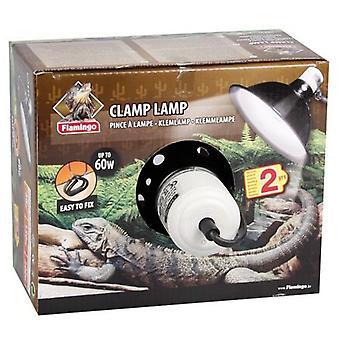 Karlie フラミンゴ セラミック アルミニウム ランプ ホルダー ピンツァ最大 60 W (爬虫類、ヒーター、ランプ)