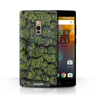 STUFF4 Case/Cover for OnePlus 2/Two/Algae/Green/Tree Bark