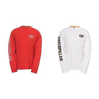 Caterpillar Mens Custom Banner T-Shirt