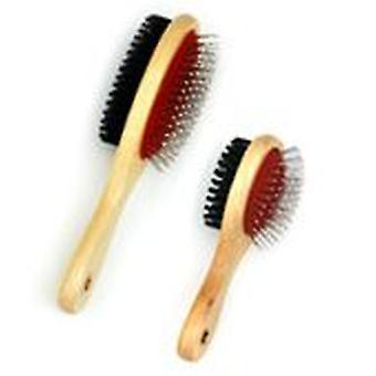 Freedog 2x1 brush 6x19cm wide duo (Dogs , Grooming & Wellbeing , Brushes & Combs)