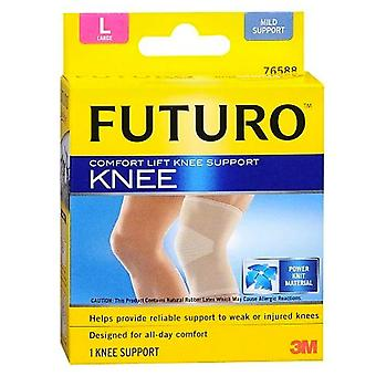 Futuro comfort lift knee support, large, 1 ea