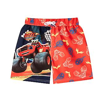 Blaze en de Monster Machines Officiële Gift Boys Kids Swim Board Shorts