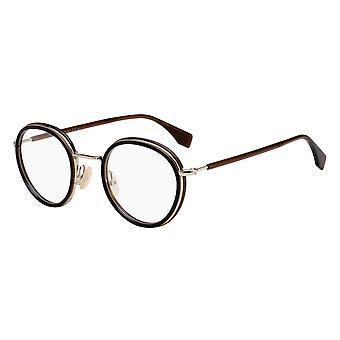 Fendi FF M0065 09Q Brown Glasses