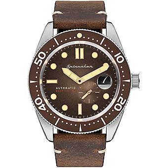 Spinnaker SP-5058-02 Gent's Croft Brown Dial Wristwatch