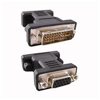 24 + 5 DVI Converter to VGA HDB 15 NANOCABLE 10.15.0704 Male Plug Socket