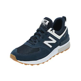 New Balance MS574 Unisex Sneaker Blue Gym Shoes Sport Running Shoes