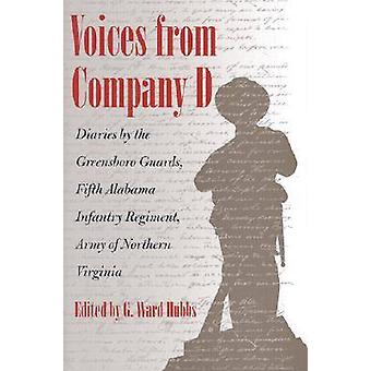 Voices from Company D - Diaries by the Greensboro Guards - Fifth Alaba