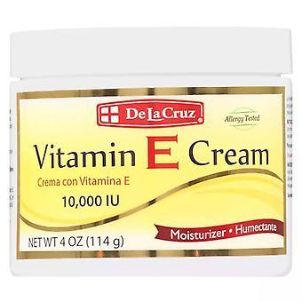 De la cruz vitamin e cream, 4 oz