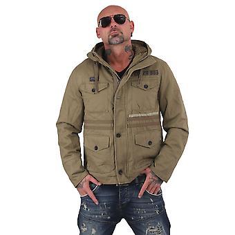 YAKUZA Men's Winter Jacket Fuck Society