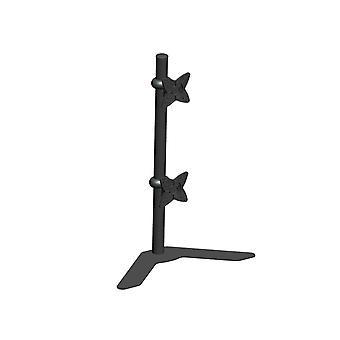 Bracket de mont de bureau DUAL Tilting réglable pour les moniteurs de 10 à 23 po jusqu'à 33 lb Black by Monoprice