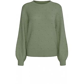 b.young Green Embossed Spot Jumper