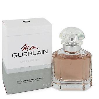 Mon Guerlain Eau De Toilette Spray By Guerlain 1.6 oz Eau De Toilette Spray